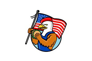 American Eagle Holding Burger and US