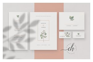Nephrite • Wedding Invitation Suite