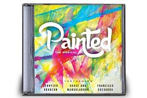 Painted Musical CD Album Artwork