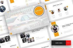 Kriing - PowerPoint Template