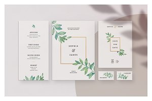 Agate • Wedding Invitation Suite