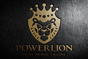 Power Lion Logo