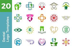 20 Logo Dental & Medical Bundle
