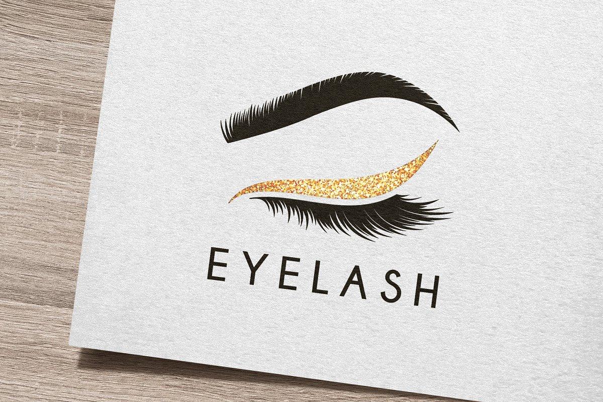 81f5776b89c Eye Lash Logo ~ Logo Templates ~ Creative Market