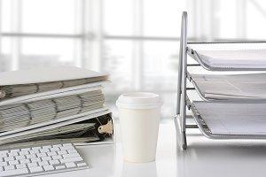 Office Desk Closeup