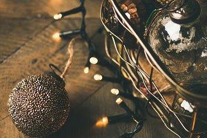 Christmas tree toy decoration balls