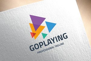 Go Playing Logo