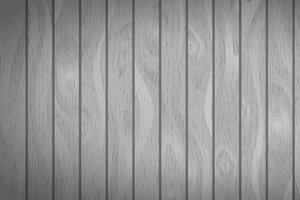 Gray realistic wooden boards