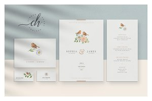 Beryl • Wedding Invitation Suite