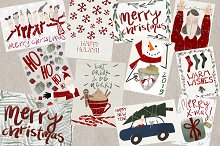 Pack of 12 Christmas Cards by  in Cards