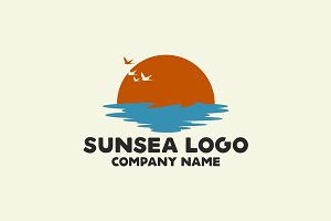 Sun and Sea Logo