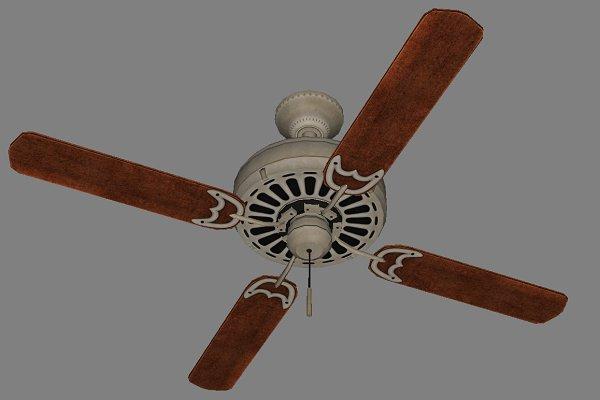 3D Electronics: 2dawngames - Ceiling_Fan