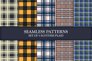 Scottish Plaids Illustrator Patterns