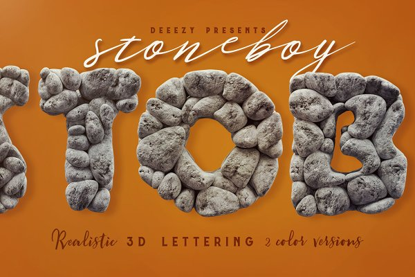 Graphics - Stoneboy- 3D Lettering