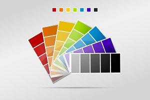 Color Palette Strips