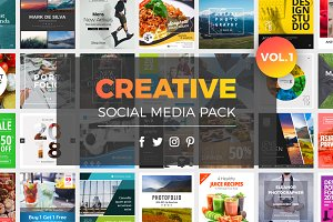 Creative Social Media Pack Vol.1