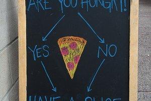 Eat Pizza Flow Chart