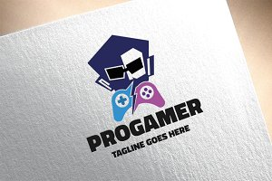 Professional Gamer Logo