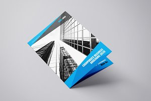 Byfold - A4 Company Bifold Brochure