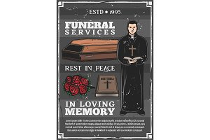 Funeral service, burial agency
