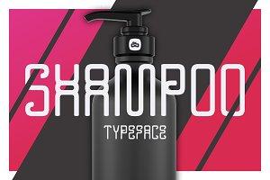 SALE! SHAMPOO Experimental Typeface