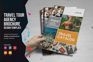 Holiday Travel Brochure Design v5