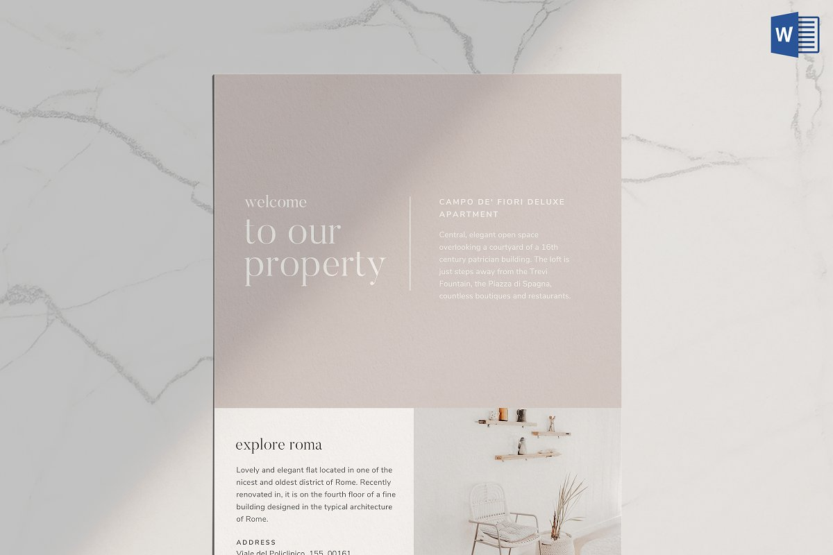 Airbnb Welcome Book Template ~ Flyer Templates ~ Creative Market