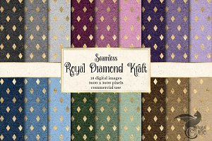 Royal Diamond Kraft Patterns