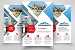 Real Estate Psd Flyer Templates