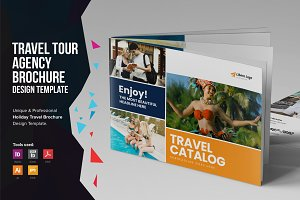 Holiday Travel Brochure Design v6