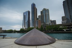 Chicago's River Walk Centennial Foun