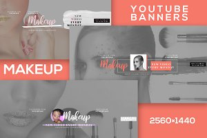 Makeup Youtube Banners