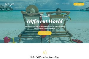 Reyes - Landing Page HTML Template