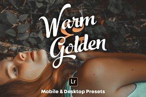 Warm & Golden - Lightroom Presets