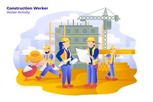 Construction - Vector Illustration