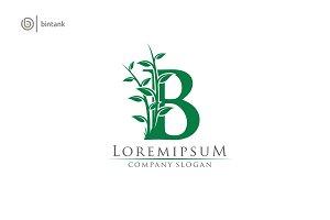 Green B Letter Logo