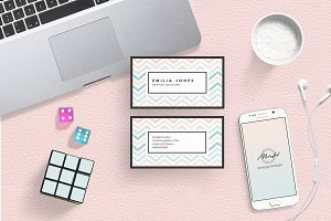 Pastel Color Bussiness Card Template