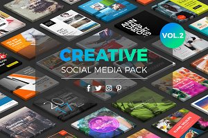 Creative Social Media Pack Vol.2