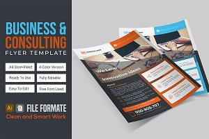 Business & Consulting Flyer