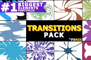 Transitions Pack After Effects
