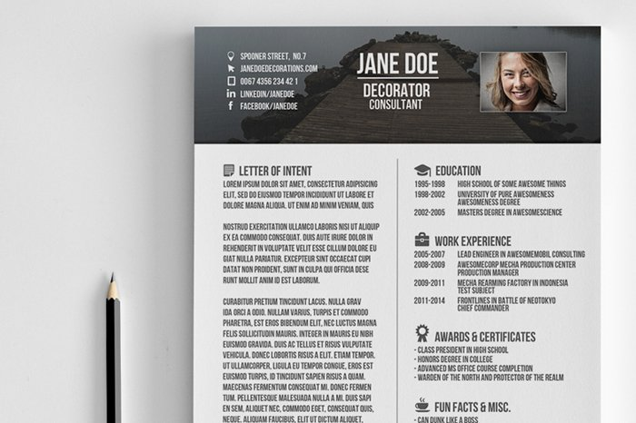 creative resume. Resume Example. Resume CV Cover Letter