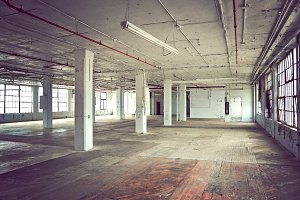 Empty Factory Room Photo