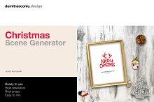 Christmas Scene Generator