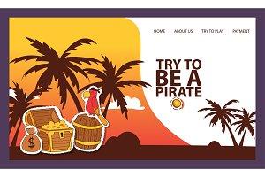 Pirates adventure hunt for lost