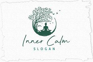 Inner Calm Logo Template