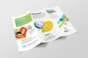 Bostrap_Corporate Tri-Fold Brochure