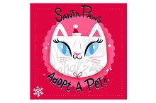 Santa Paws: Cat