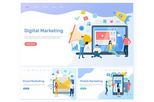 Digital and Email, Mobile Marketing