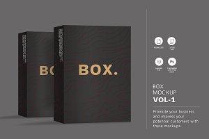 Box Mockup Vol.1
