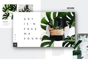 DESIRE - Powerpoint Template